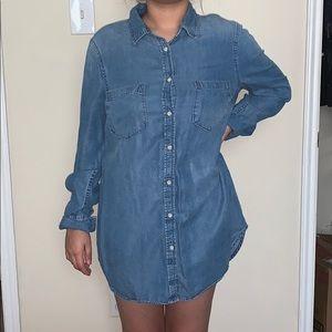 Jean long shirt
